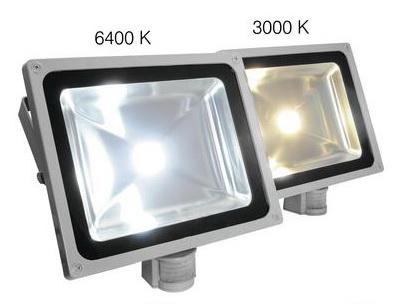 Teplá a studená LED rozdíl