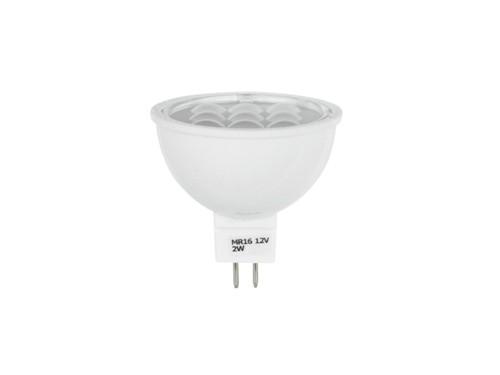 LED žárovka 12V 2W SMD GU5.3 MR-16 Omnilux, teplá bílá 3000K