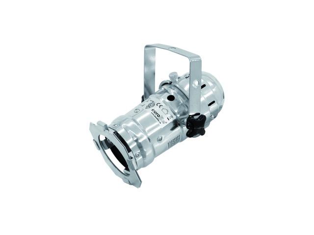 Fotografie Eurolite LED PAR-16 spot stříbrný, 1x 3W LED, 3200K