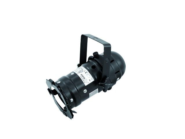Eurolite LED PAR-16 spot černý, 1x 3W LED, 3200K
