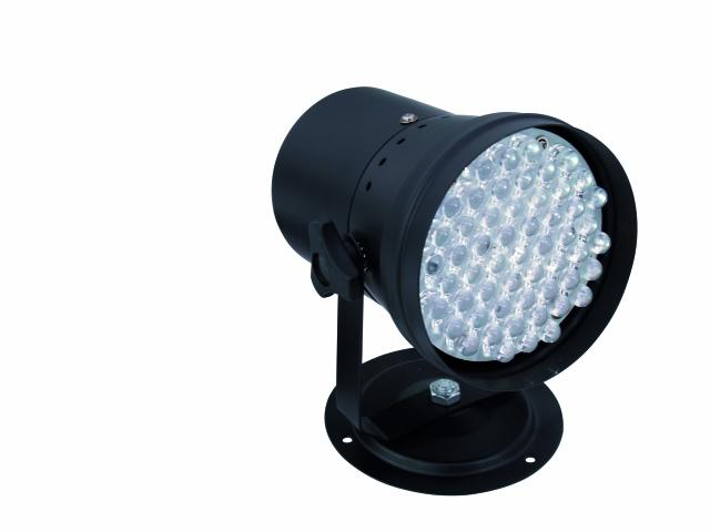 LED PAR reflektor-36 RGB, černý, 55x 10mm LED