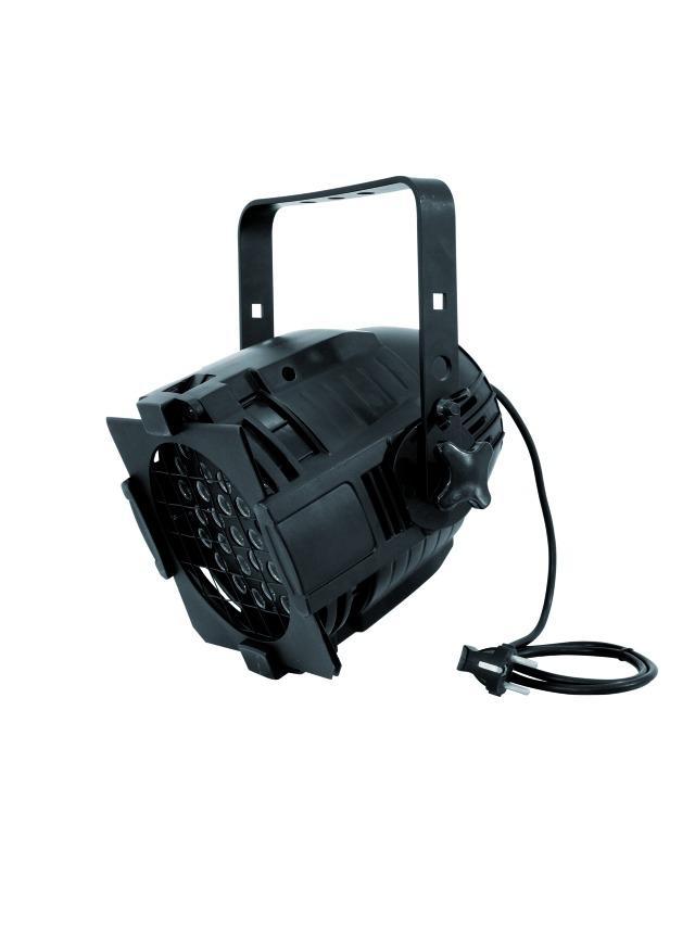 Eurolite LED ML-56 RGBA černý, 36x 3W LED