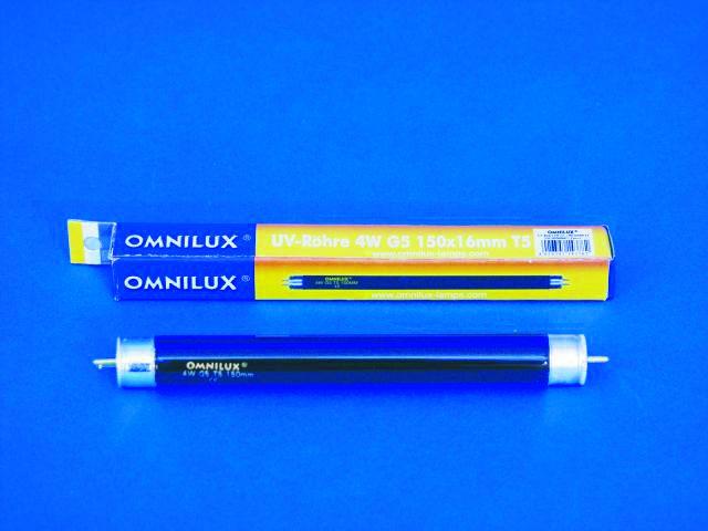 Fotografie UV Trubice 4W/15cm Omnilux