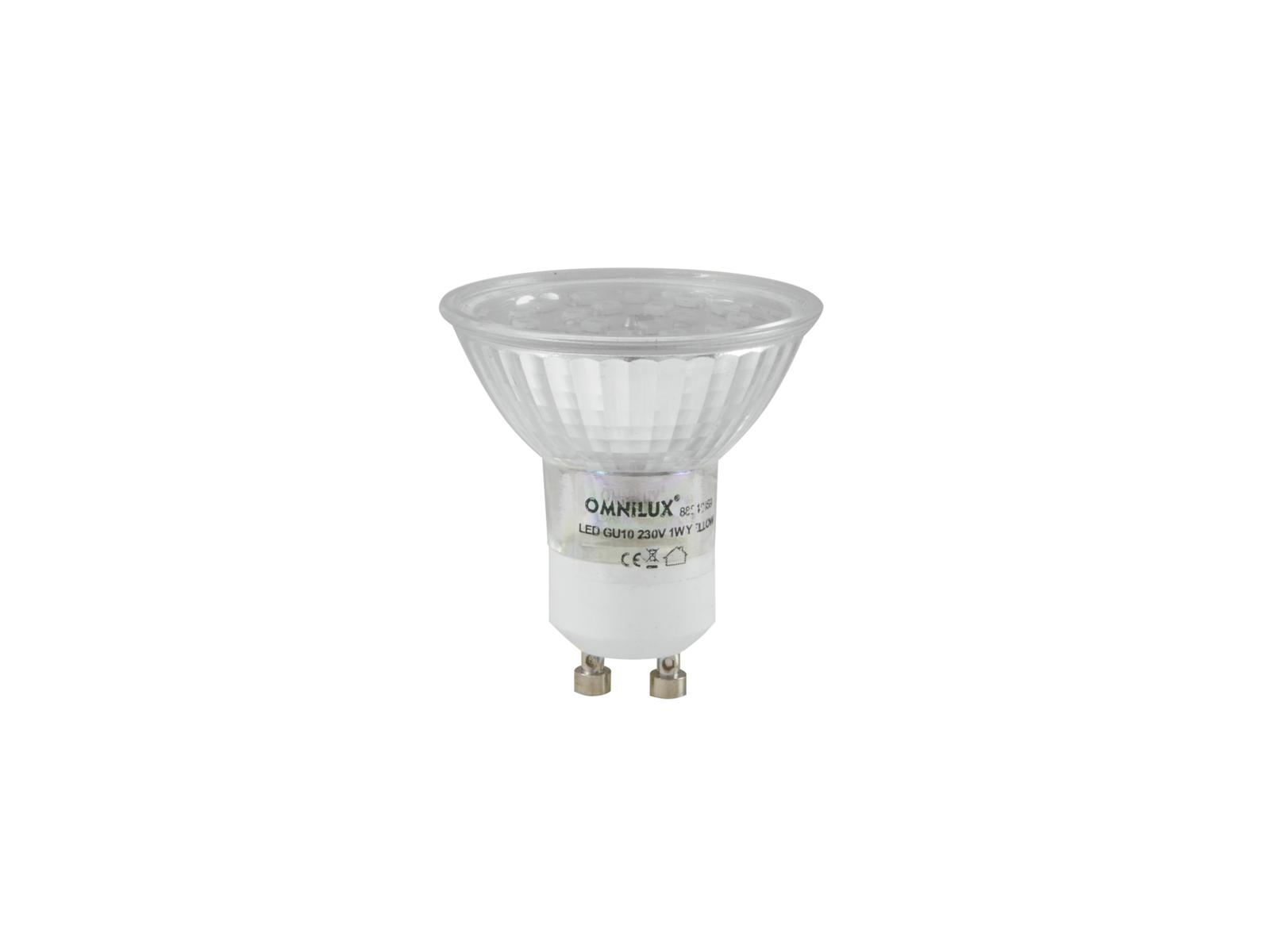 Fotografie 230V GU-10 18 LED Omnilux, UV aktivní