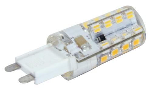 LED žárovka 230V/2,5W G9 silikon, teplá bílá