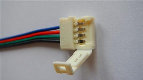 Fotografie Napájecí konektor pro LED světelný pásek, SMD5050, RGB, 10mm