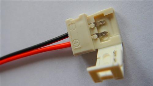 Fotografie Napájecí konektor pro LED světelný pásek, SMD3528, 8mm
