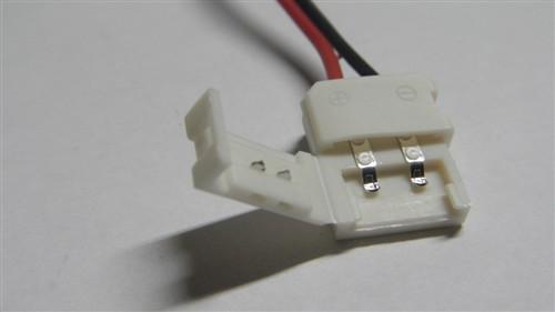 Fotografie Napájecí konektor pro LED světelný pásek jednobarevný, SMD5050, 10