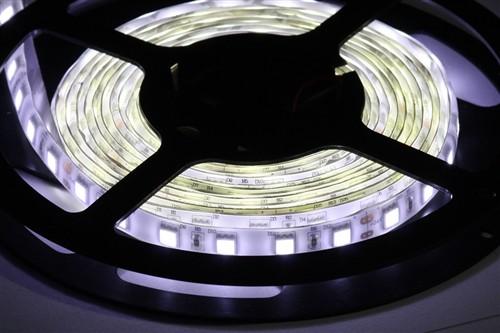 Fotografie LED páska SMD5050, bílá 8000K, 24V, 1m, IP54, 60 LED/m
