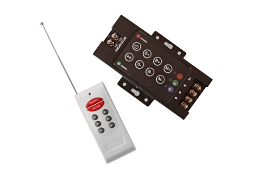 Fotografie eLite ovladač pro LED svítící pásky, 12-24V, RGB, RF