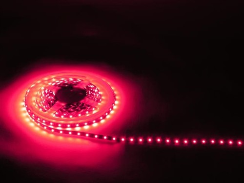 Fotografie Eurolite LED páska, 5 m 300 LED, červená
