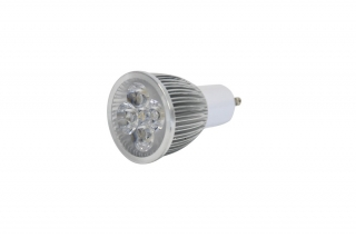 LED žárovka 230V / 5W LED spot GU-10, 3000K