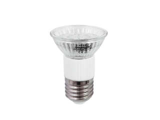 LED UV žárovka Omnilux JDR 230V E-27 18 LED UV, 1W